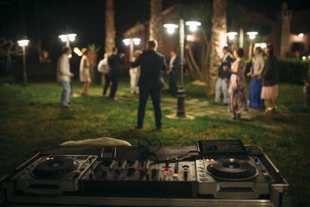 wedding party sicily